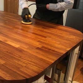 Cheshire Woodwork Solid Wood Repair Sanding
