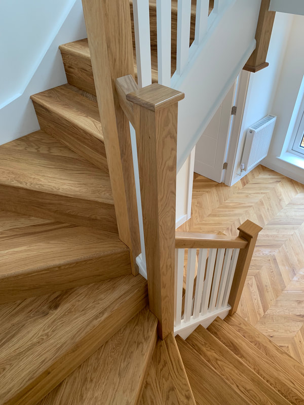 Staircase cladding North Cheshire